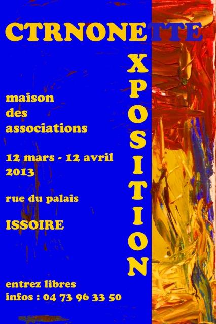 affiche expo issoire 2013