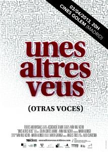 Cartell Otra vocesMADRID