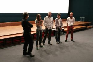 Philippe Lacadée, Violette Aymée, Ivan Ruiz, Albert Mateu, Marc Langlois - Photo © François Moraud