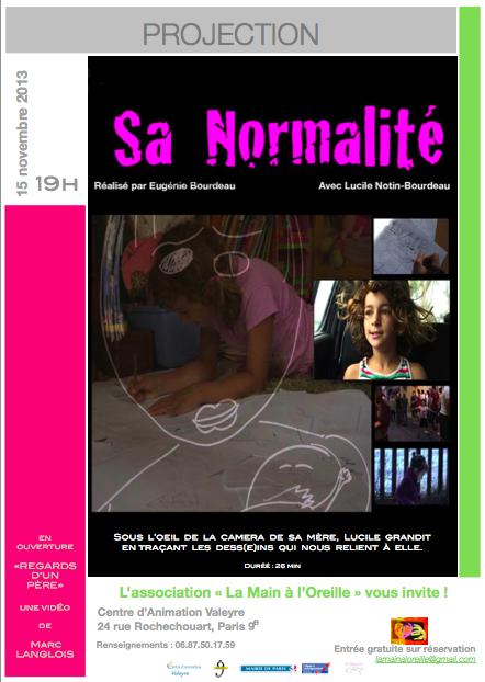 Affiche film SA NORMALITE (vert)  JPG 12.46.59