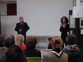 Marc Langlois et Mariana Alba de Luna