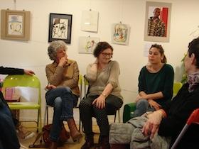 Dominique Gentes, Marianne Bourineau et Violette Aymé