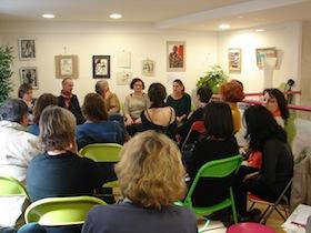 Discussions à la libraire Comptines