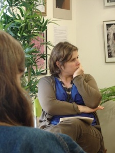 Ariane Tapinos Directrice de la librairie Comptines