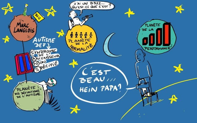 Un dessin de Guillaume Lefèvre