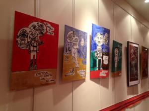 Les tableaux de Martin Gimenez