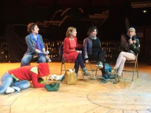 Lucile Notin-Bourdeau, Mireille Battut, Eugénie Bourdeau, Babouillec SP, Véronique Truffert