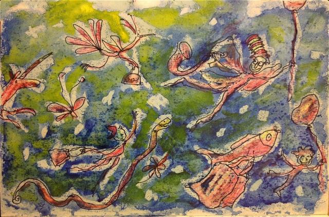 Journée turbulente, Marie Ollier