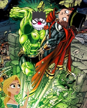 Hulk contre Armagedon là ça passe mieux